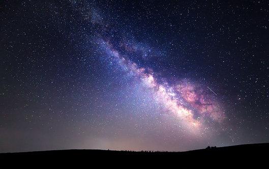 Фотообои. Фрески. Картины. Космос. Звезды. Млечный путь. Летнее звездное небо