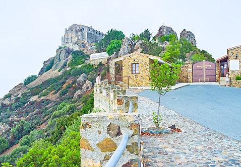 Греческий православный монастырь Ставровуни