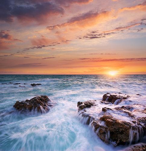 Живописный морской пейзаж