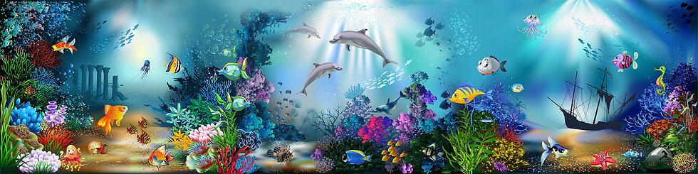 Фотообои. Морские глубины
