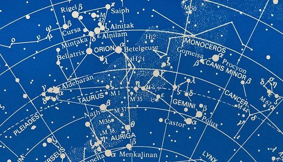 Фотообои. Фрески. Картины. Звездная карта. Млечный Путь