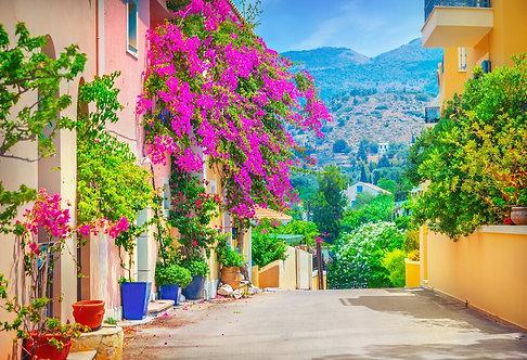 Улица в Кефалонии - Греция