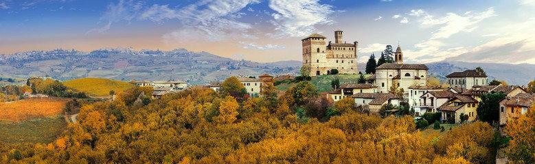 Замок Гринцане-Кавур в Италии