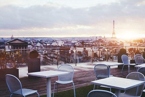 Красивое кафе в Париже