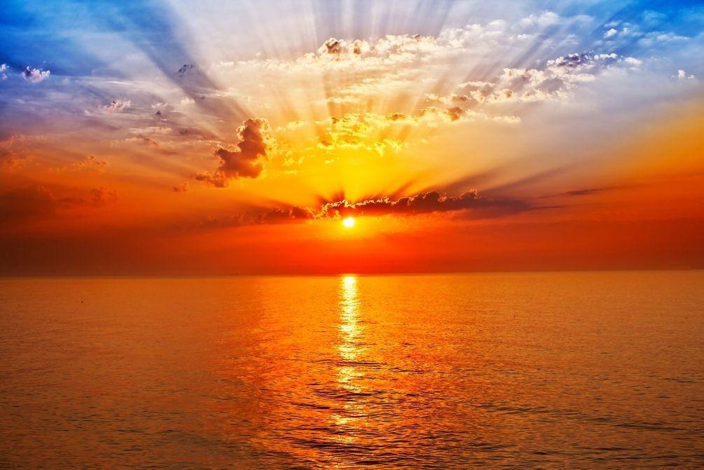 Поздравляем, красивые открытки восхода солнца