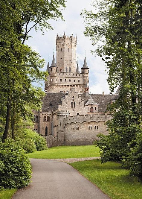 Древний замок Мариенбург. Нижняя Саксония, Германия