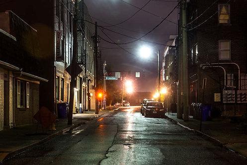 Вечером в Лексингтоне - штат Кентукки, США