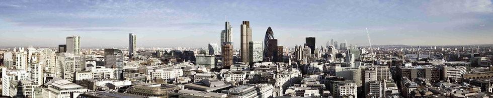 Панорамный вид Лондона