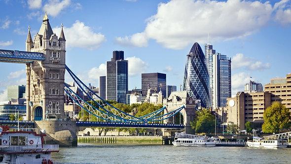 Финансовый район Лондона и Тауэрский мост