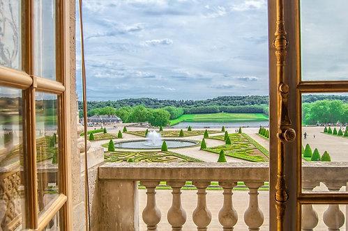 Вид из окна Версальского дворца