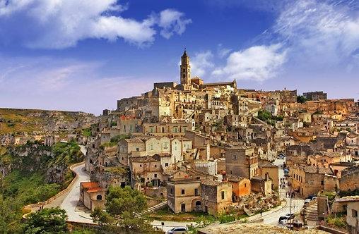 Древняя Матера - Италия
