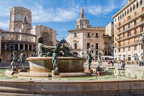 Городской вид на Валенсию - Испания