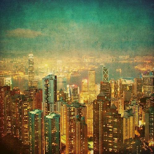 Гонконг в винтажном стиле