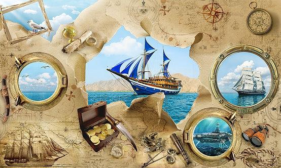 Обои с морем и кораблями