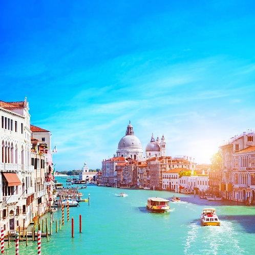 Венецианский Гранд-канал в солнечный день