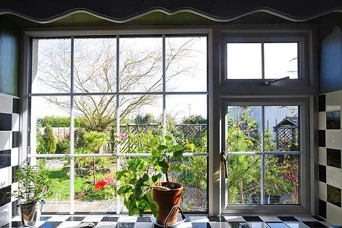 Окно с видом в сад