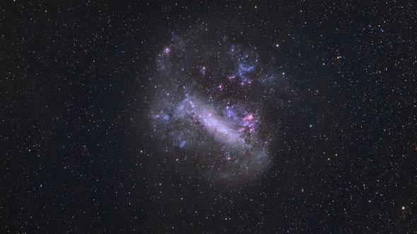 Фотообои. Фрески. Картины. Космос. Большое магелланово облако