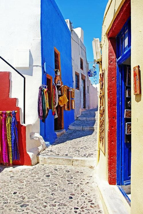 Греческая живописная улица