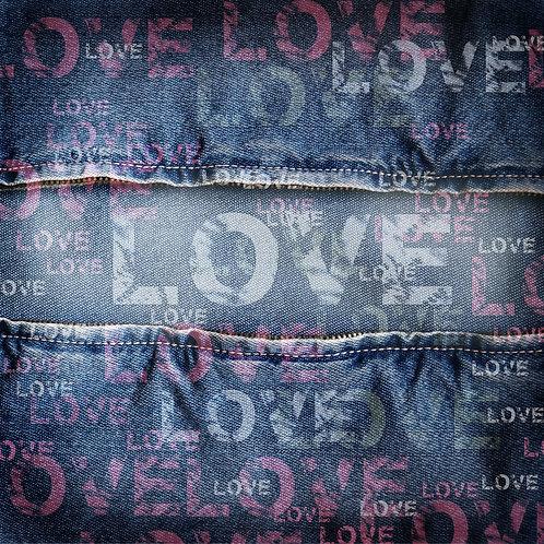 Винтажный джинсовый фон