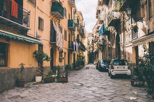 Улица в Палермо - Италия