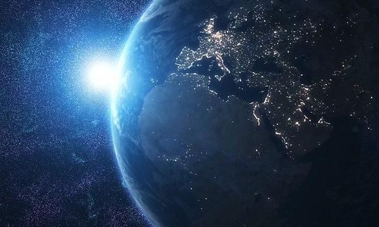 Фотообои. Фрески. Картины. Космос. Вселенная. Планета Земля