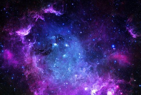 Фотообои. Фрески. Картины. Космос. Вселенная. Звездное поле