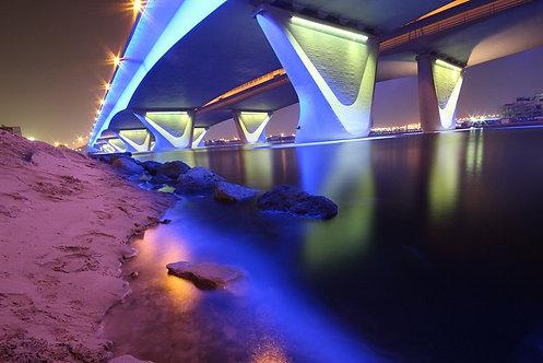 Мост в Дубае