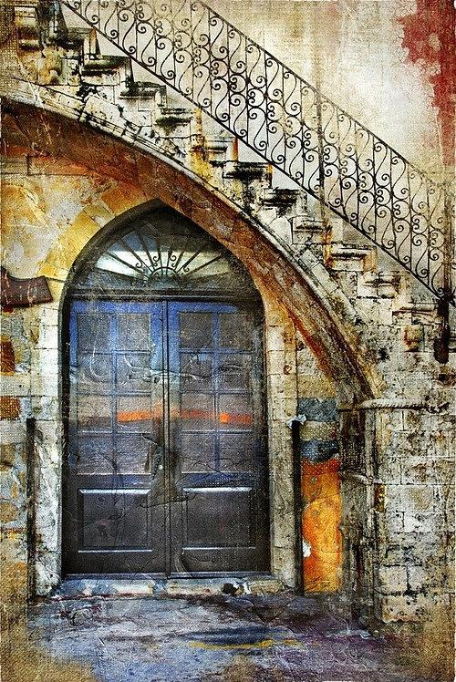Старая греческая улица