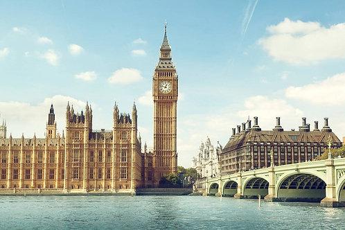 Биг-Бен в солнечный день - Лондон