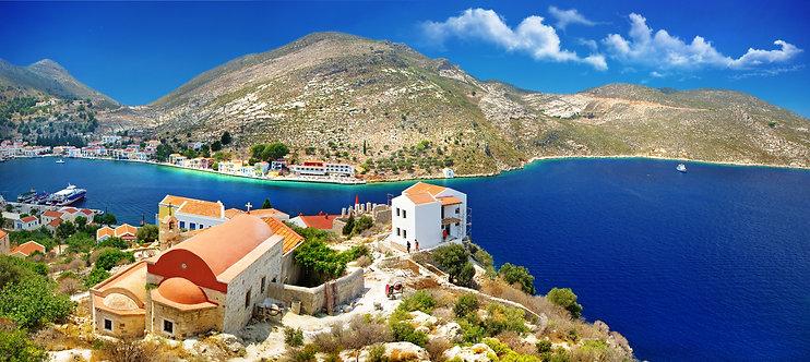 Панорама острова Кастелоризо - Греция