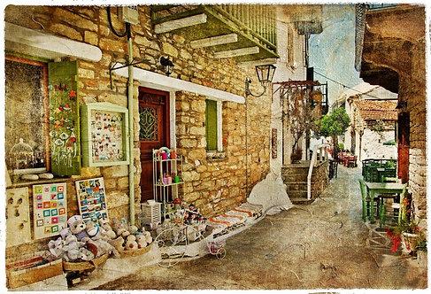 Старинная греческая улица