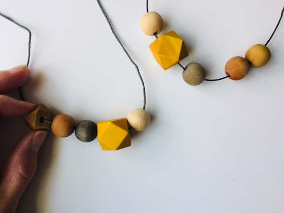 Peace Bead Necklaces