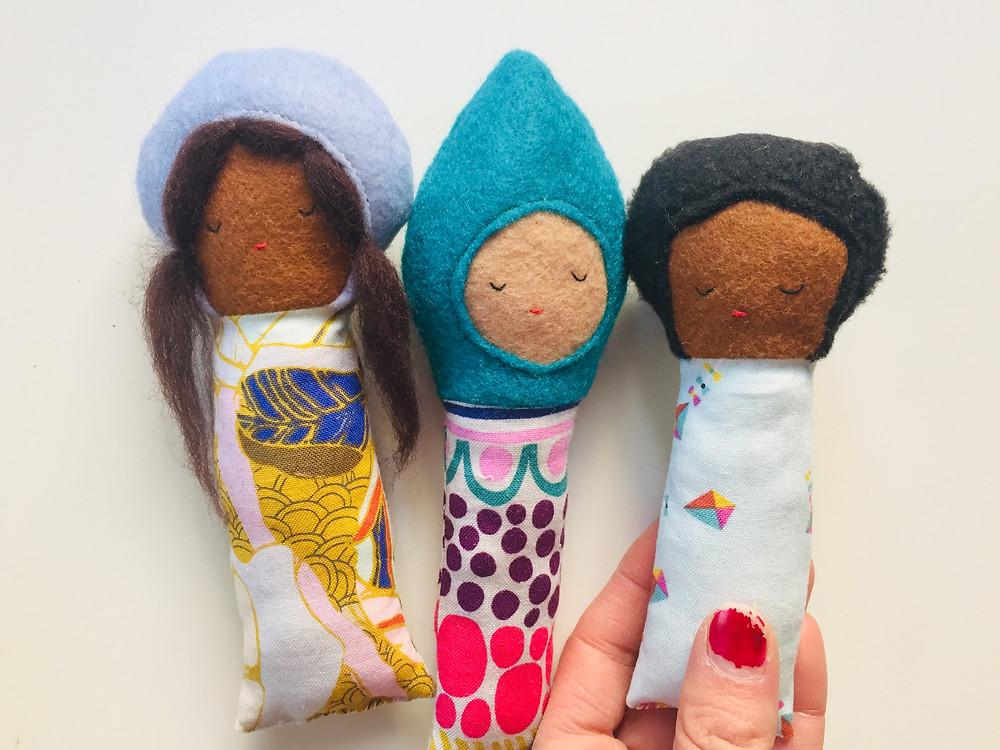 Felt-Peace Dolls