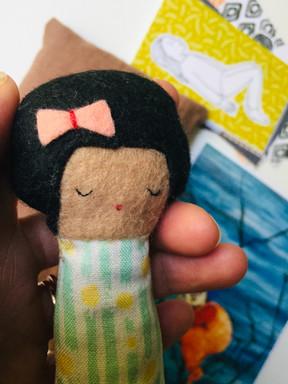 Felt-Peace Doll