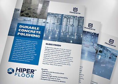 Husqvarna Hiperfloor Polished Concrete Premium