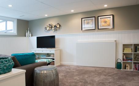 Basement Renovation, Interior Design