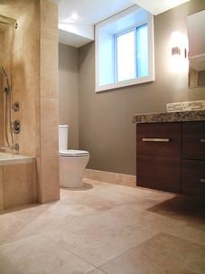 Home Renovation, Basement Bathroom Design