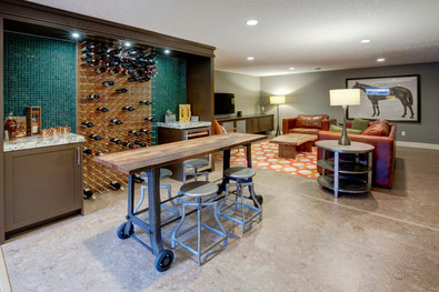 Basement Development, Interior Design