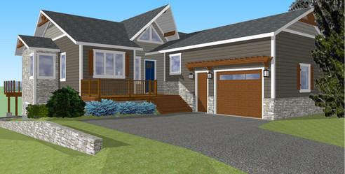 Exterior Design, 3D Rendering