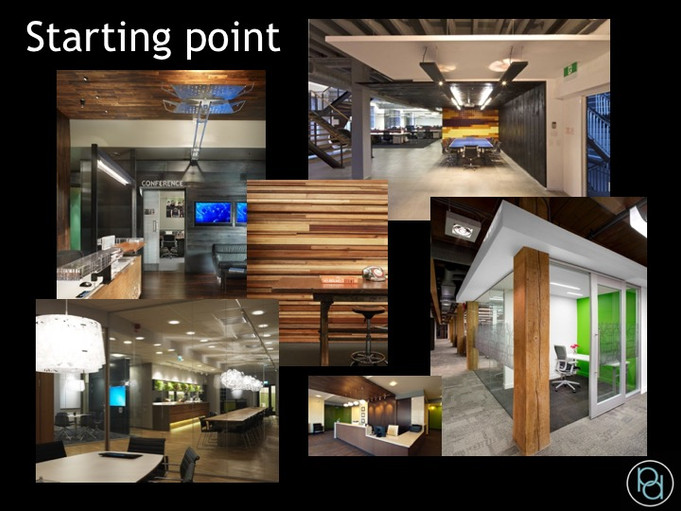 Concept images for office design