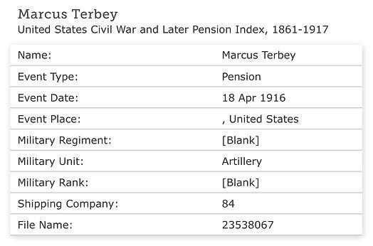 1916b Marcus Terbey, %22United States Ci
