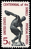 Physical_Fitness_Sokol_5c_1965_issue_U.S