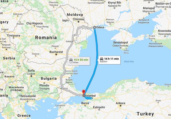 Odessa, Ukraine, to Istanbul, Turkey.jpg