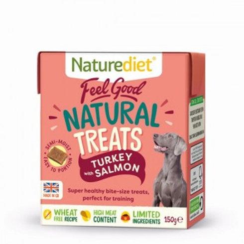 Nature Diet Treats - Turkey & Salmon