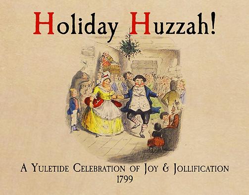 Holiday Huzzah!