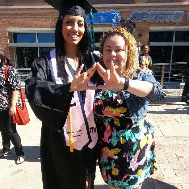Daniela's graduation