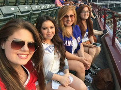 The Pinkies at the Ballpark
