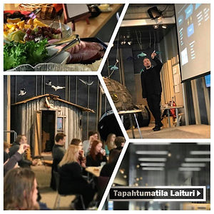 Kuvia Oulun pääkirjasto Laiturilta Wake Up -tilaisuudesta.