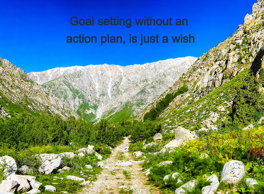 Benefits of creating an action plan when setting goals