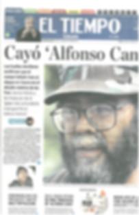 Periodico El Tiempo - Noviembre 5 de 201